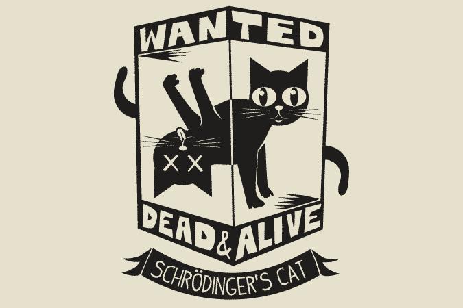 6Dollar Shirts Schrodingers Cat 1 - Einstein dan Hantu Kuantum