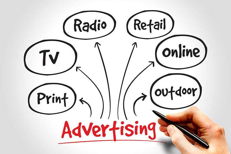 Advertising-sketch