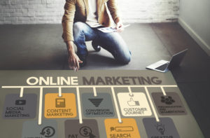 stock photo online marketing